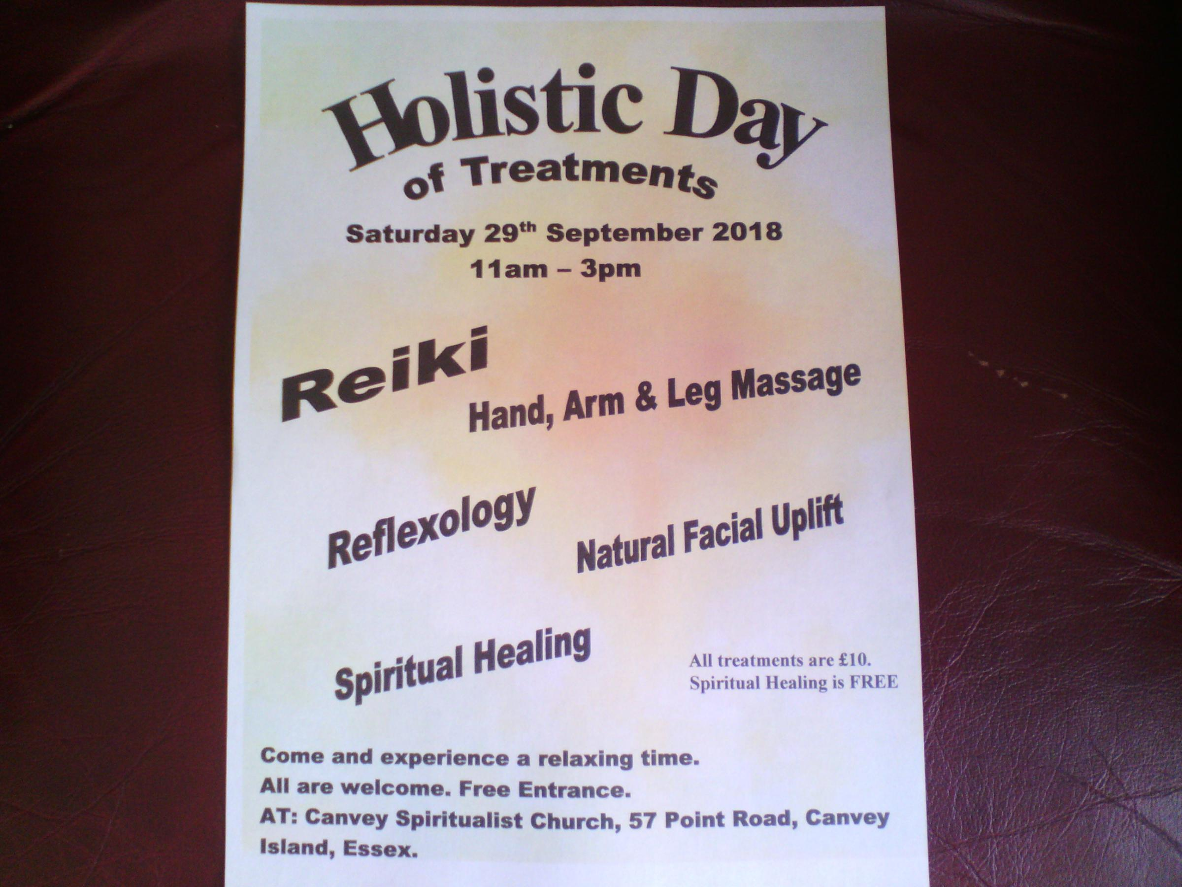 Holistic Day of Treatments