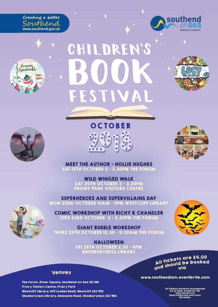 Children's Book Festival: Superheroes and Supervillains Day