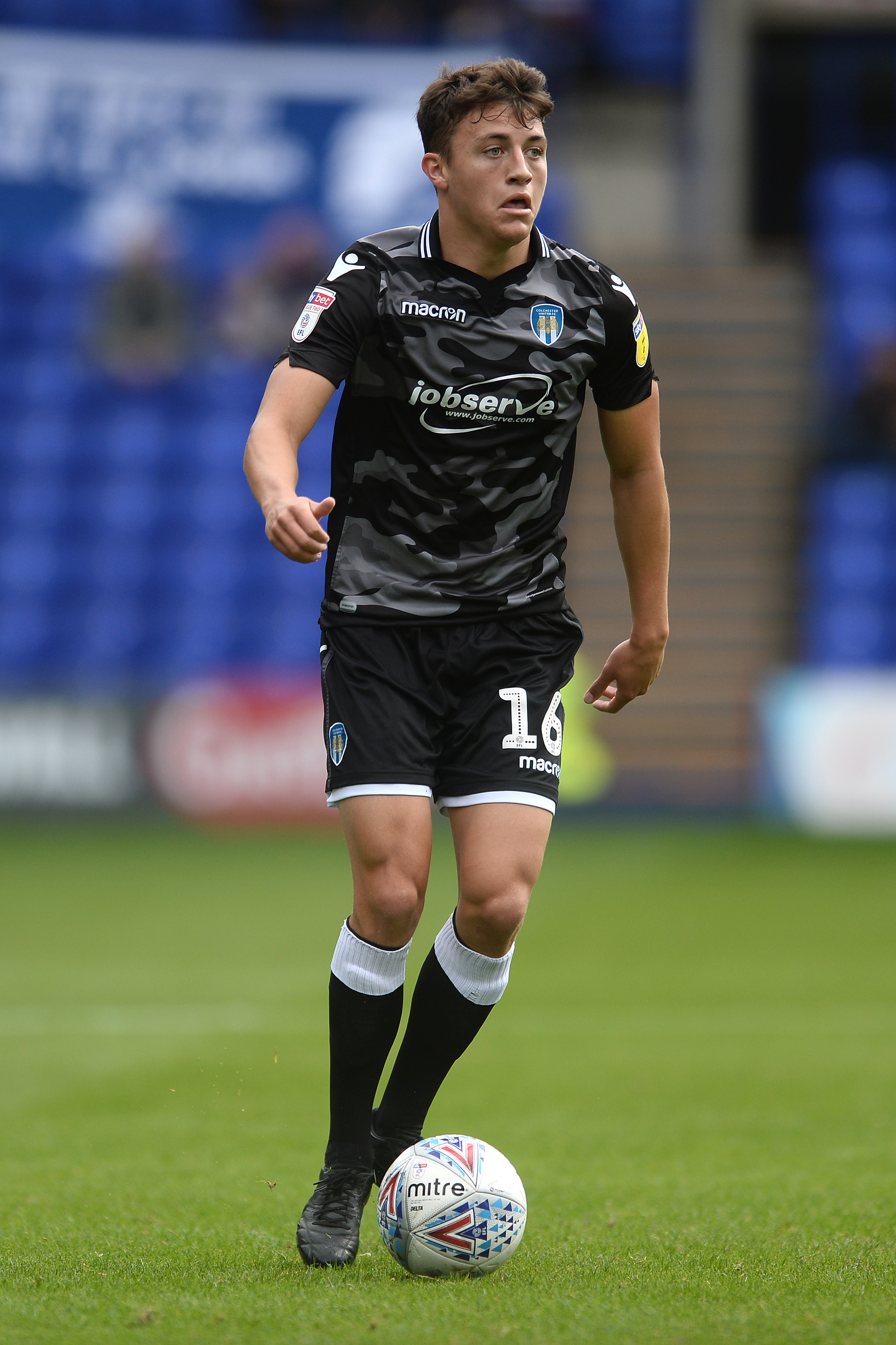 Popular - Colchester United midfielder Diaz Wright has been the subject of interest from a host of clubs looking to sign him on loan Picture: RICHARD BLAXALL