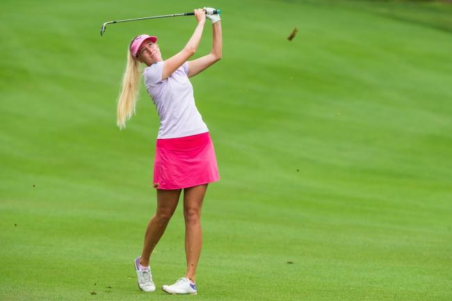 Star name - Sweden's Emma Nilsson, the urrent leader of the LETAS Order of Merit, will be in action at Stoke by Nayland GC Picture: LETAS