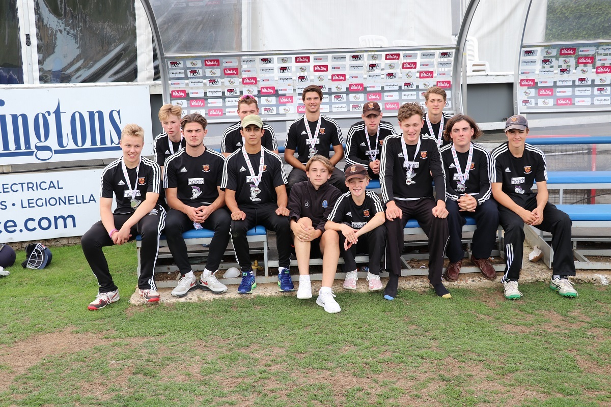 Colchester and East Essex Cricket Club's under-19 squad