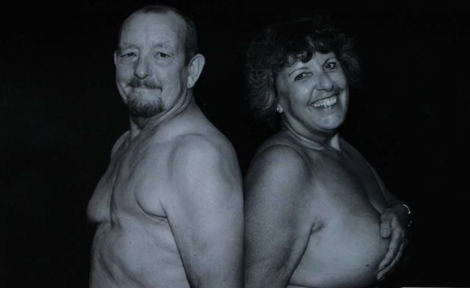 Survivors - Barry Reynolds and Tracy Brown         Picture: Collette's Photographic World