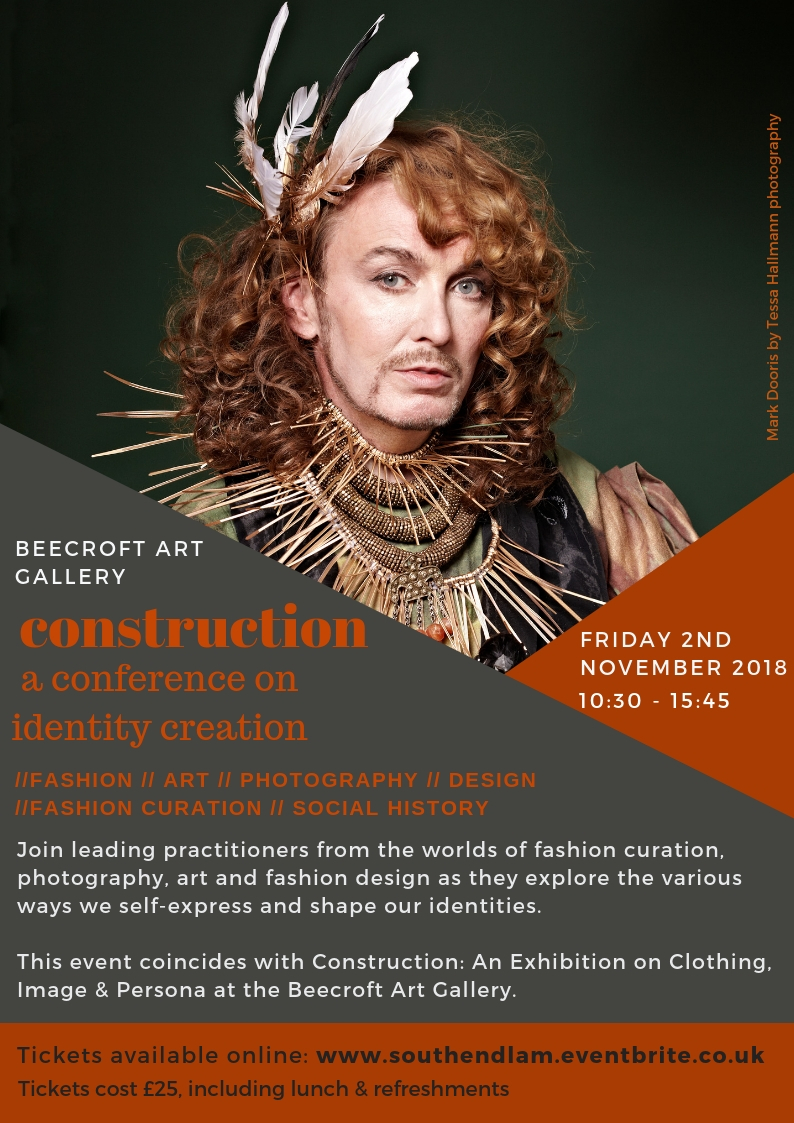 Construction: Fashion, Art, Photography & History event on identity creation