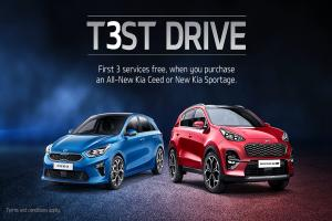 In the driving seat with Keighley Kia