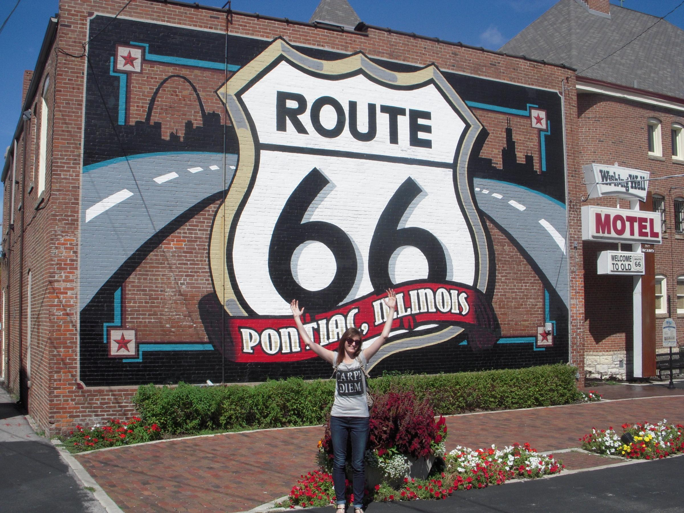 Blogger - Viki Graves who has written a guide to Route 66