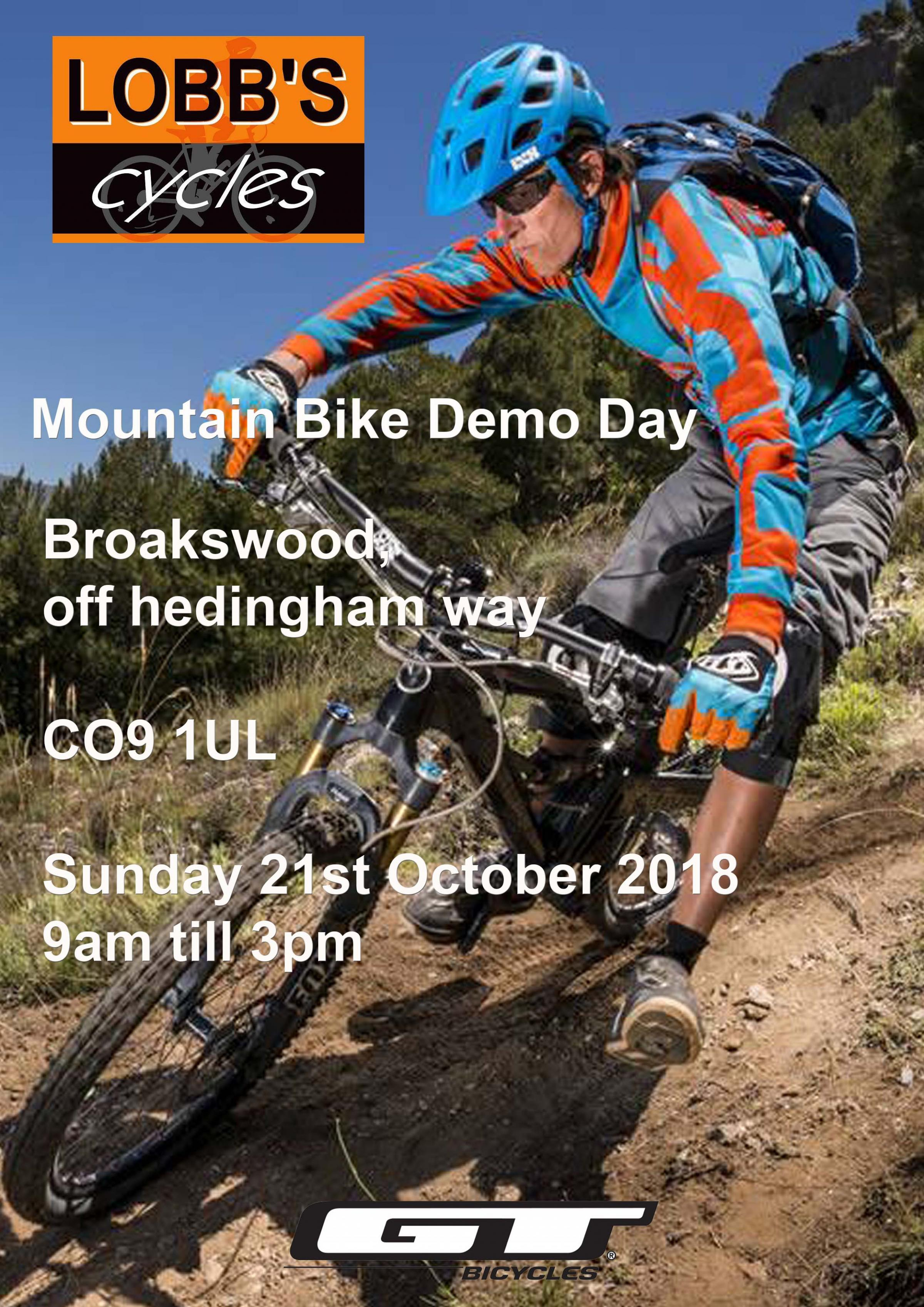 Mountain Bike Demo Day