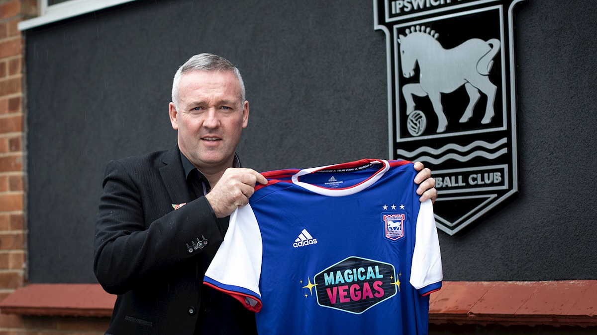 Taking the reins - Paul Lambert has been unveiled as Ipswich Town manager Picture: ITFC