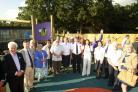 Official opening of the new playground at Lexden Springs School which was funded by the 100,000 Smiles Appeal supported by the Gazette, fundraisers join staff and pupils to officially open the area.30/9/2014...