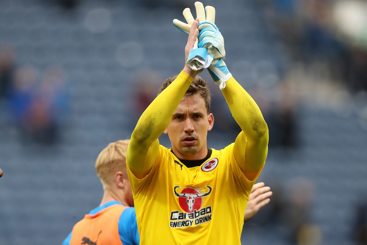 Former U's goalkeeper Sam Walker, now of Reading Picture: Jasonpix/Reading FC