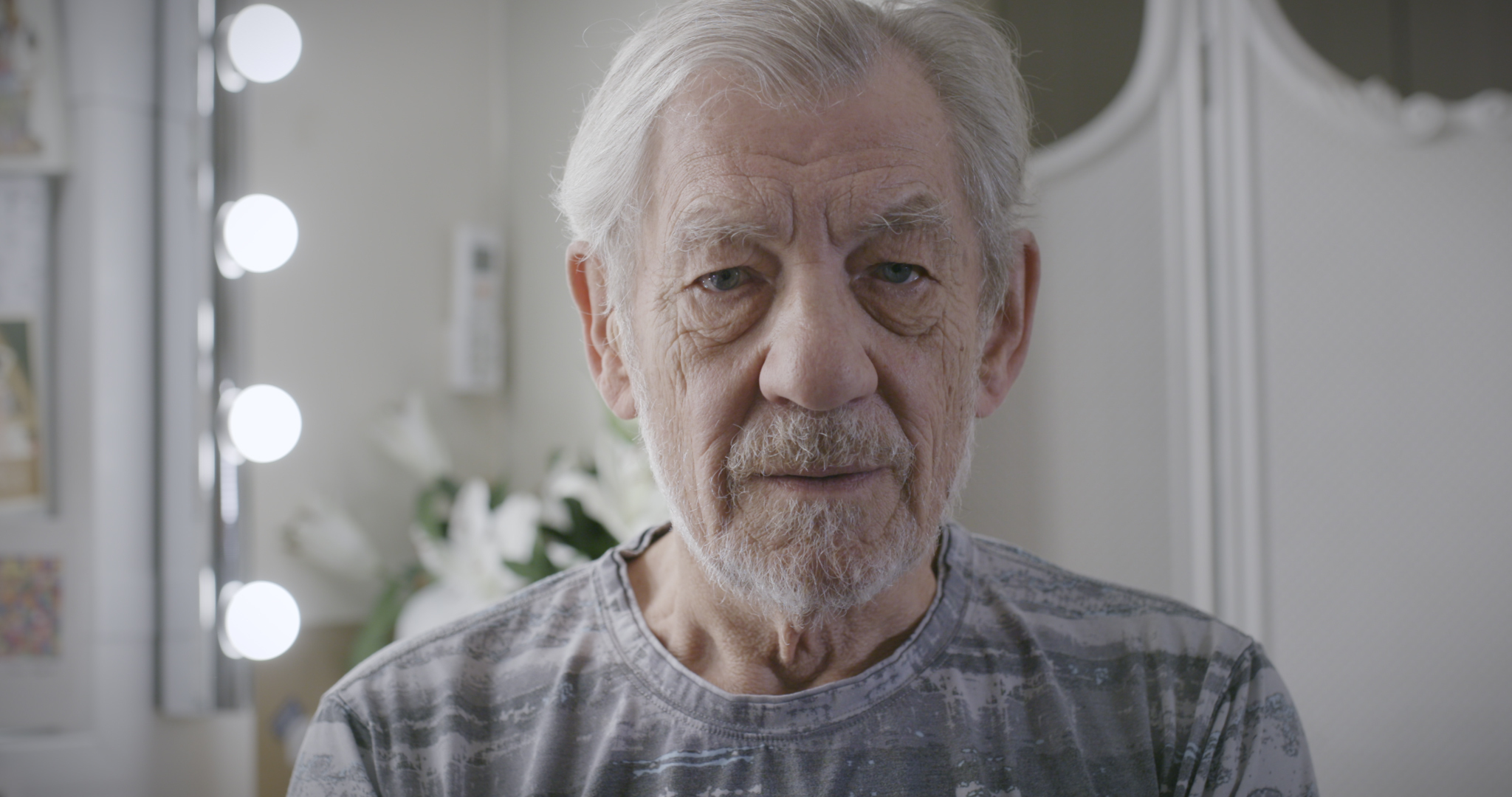 Embargoed to 0001 Wednesday October 10Undated Crisis handout photo of Sir Ian McKellen appearing in a new video calling for an end to homelessness in Great Britain. PRESS ASSOCIATION Photo. Issue date: Wednesday October 10, 2018. The f