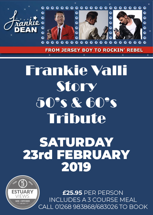 Frankie Valli Story/50's & 60's Rock Tribute