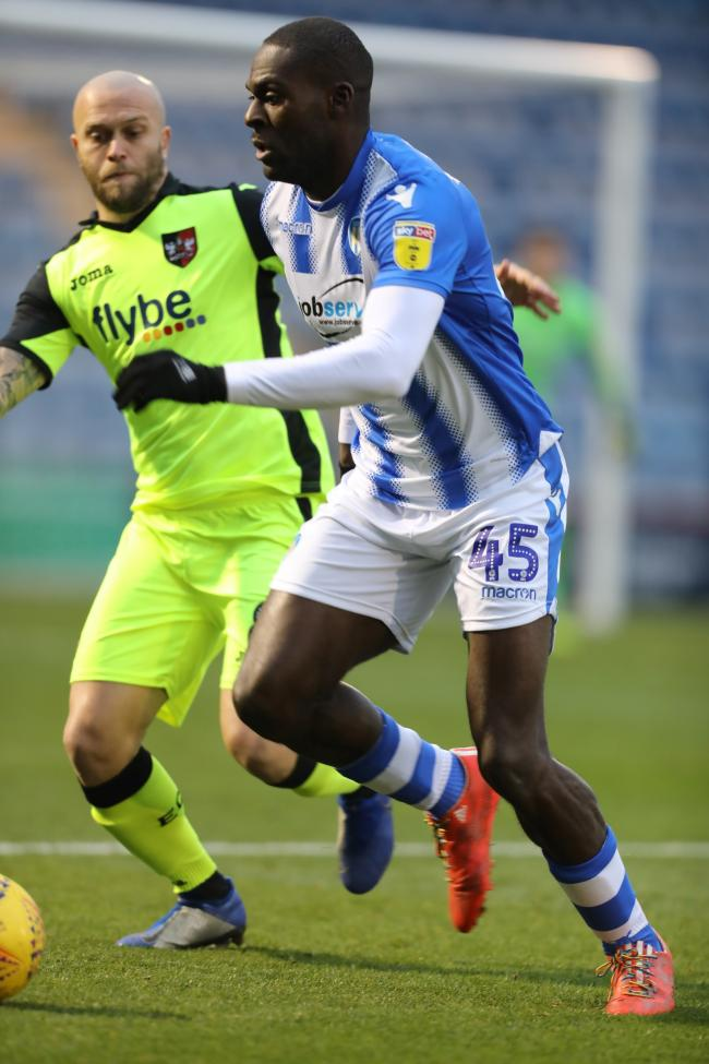 Happy - Frank Nouble says he will play in any position if it helps Colchester United win games Picture: Steve Brading