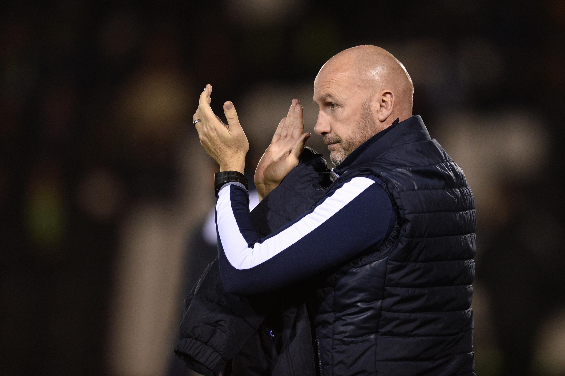R and R - Colchester United head coach John McGreal wants his players to make the most of their fixture break Picture: RICHARD BLAXALL