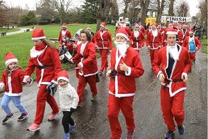 GALLERY: Colchester Hospital charity Santa Run 2018