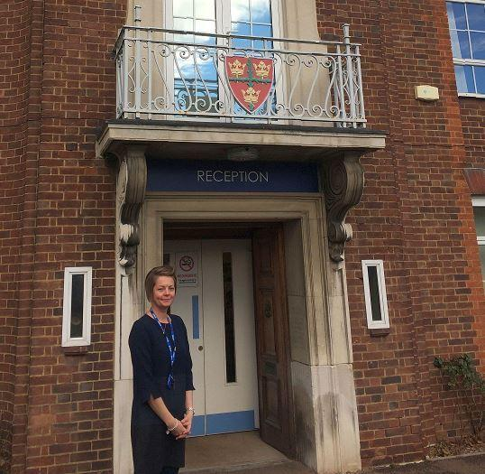 Changes - Fiona Pierson, head teache of St Helena School, Colchester.