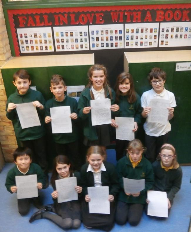 YOUNG CAMPAINGERS: Students have written letters objecting to county hall's proposed library changes