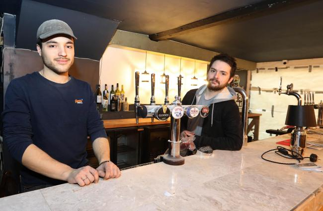 f9d841f35 Partners - Ollie Ward and Tristan Clarke are the men behind Colchester s  new jazz club Coda