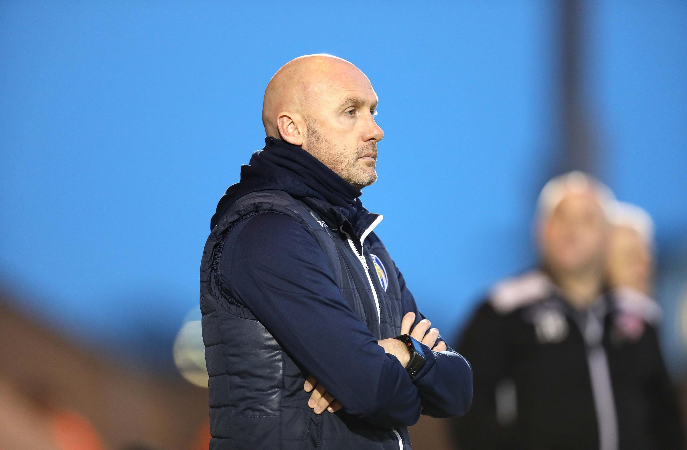 Boost - Colchester United boss John McGreal has added to his squad with the signing of loanee Abo Eisa Picture: STEVE BRADING