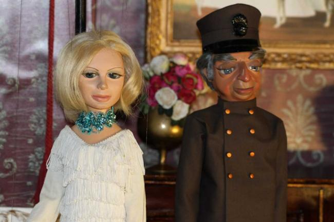 Famous Lady Penelope and Parker puppets. Photo: Graham Farley