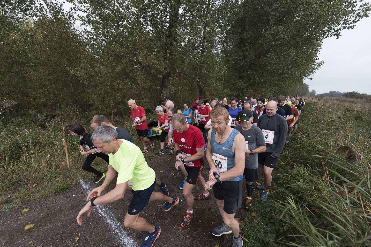 Race for Wildlife at RSPB Bowers Marsh