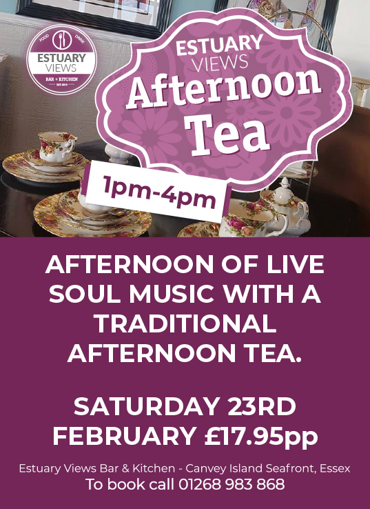 Afternoon Tea with Live Soul Music