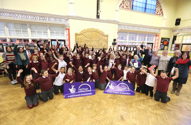 North Primary, gaining lottery funding to research the school's 125th anniversary..