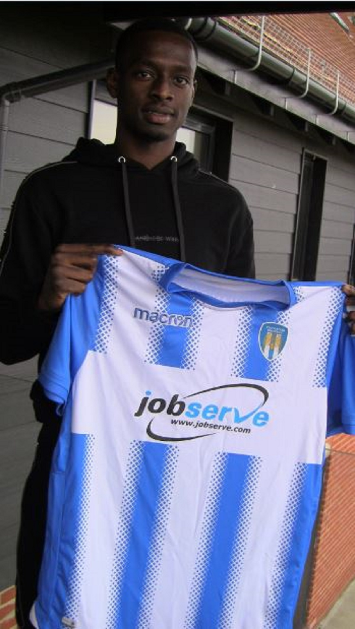New face - Colchester United loan signing Abo Eisa Picture: WWW.CU-FC.COM