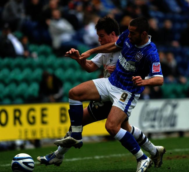 Pablo Counago netted on his second debut for Ipswich, against Sheffield Wednesday