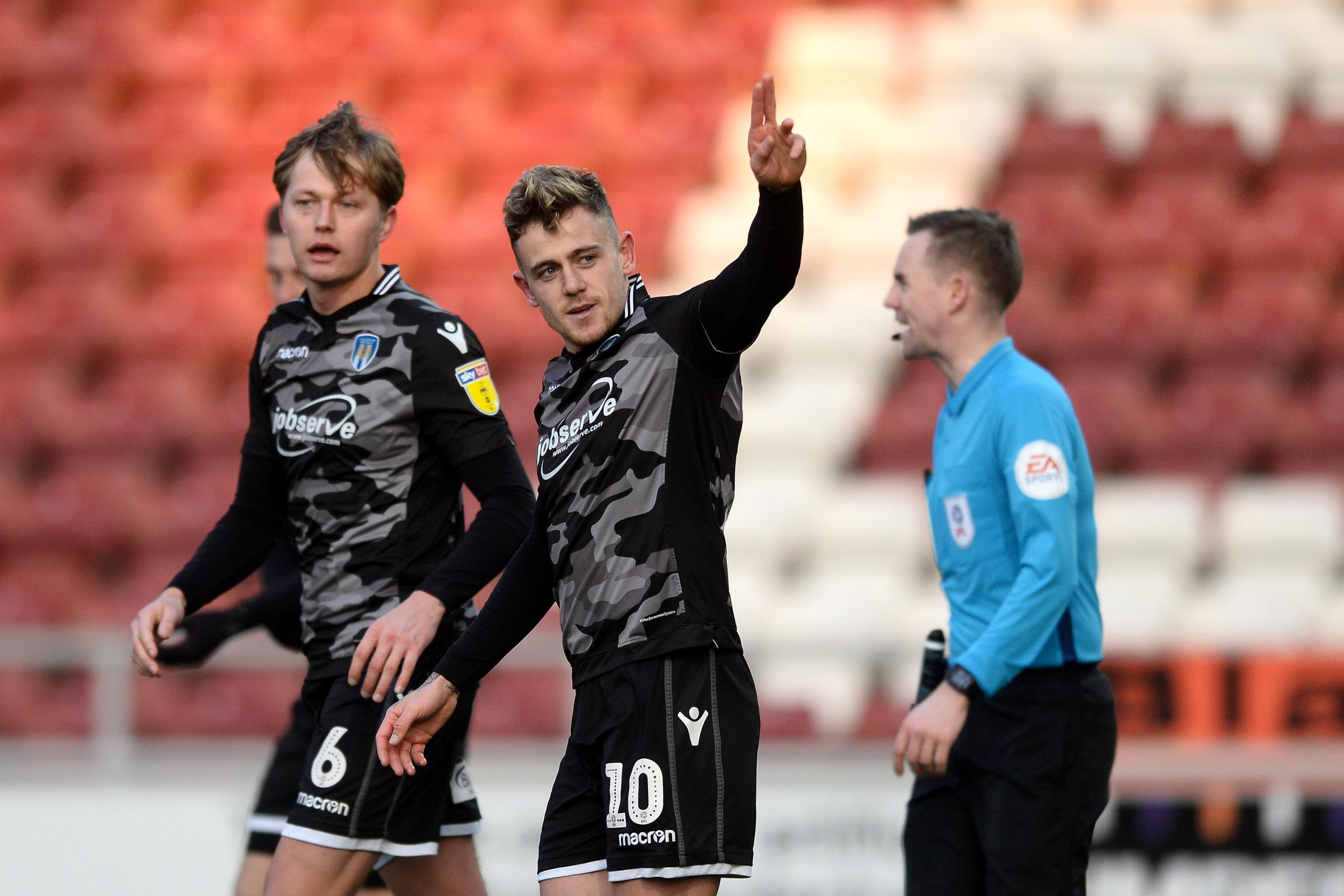 Talent - Sammie Szmodics and Frankie Kent are two players to have risen from Colchester United's academy into their first team Picture: RICHARD BLAXALL