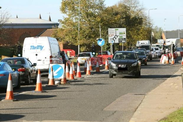 bfb4d8ae85c Ipswich Road works set to overrun - but five month closure plan is axed
