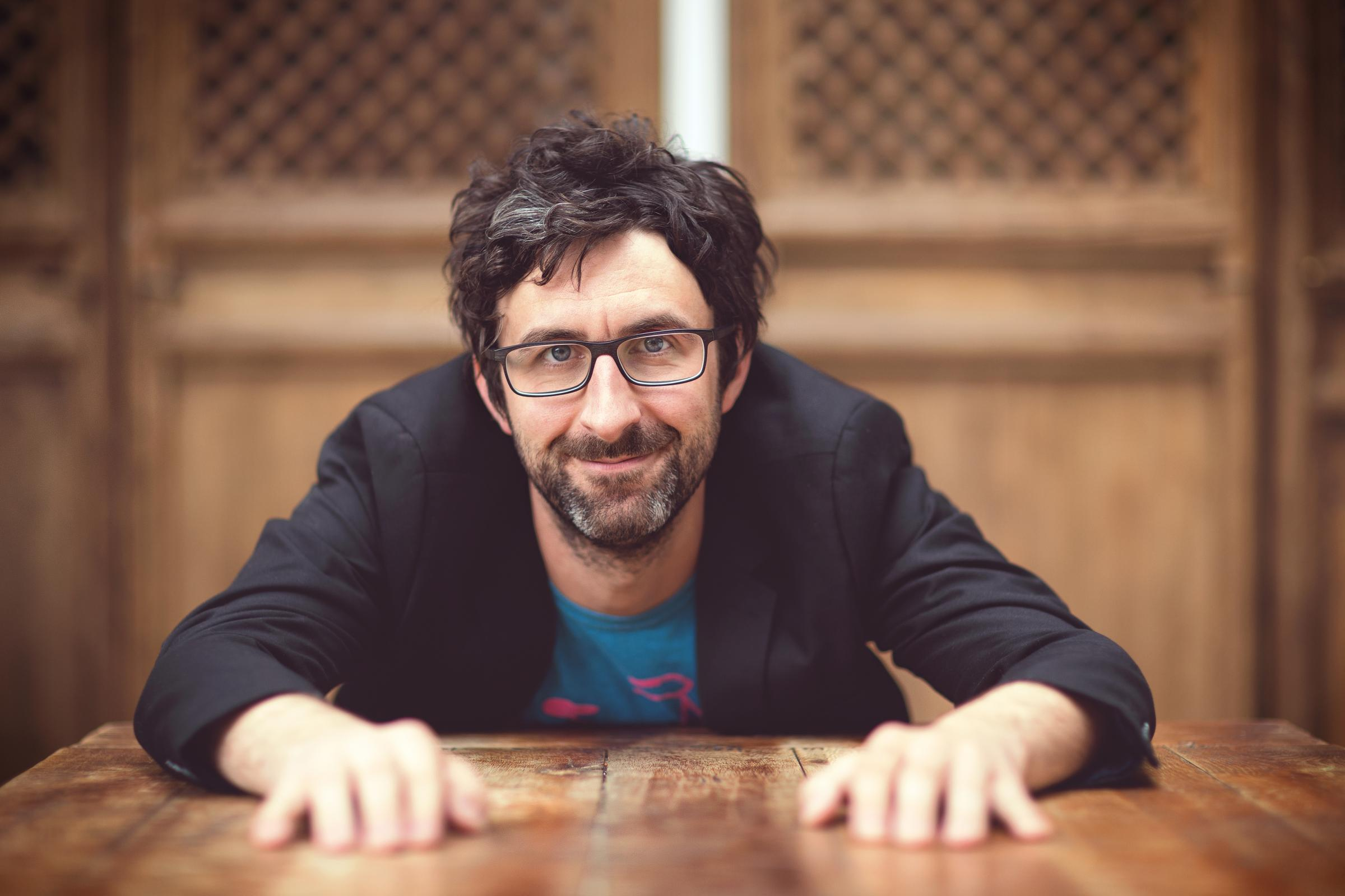Back on tour - Mark Watson returns to the Colchester Arts Centre next week