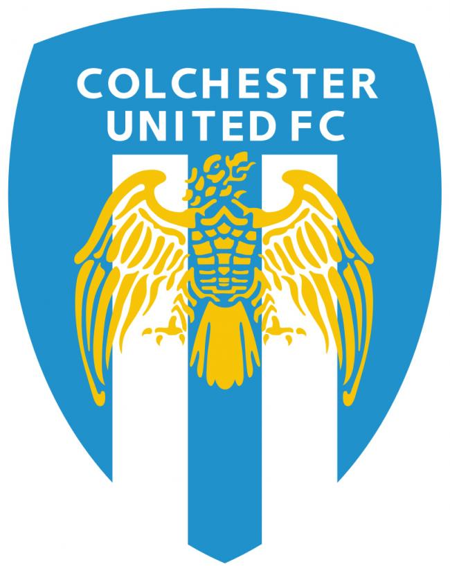 colchester united logo crest badge