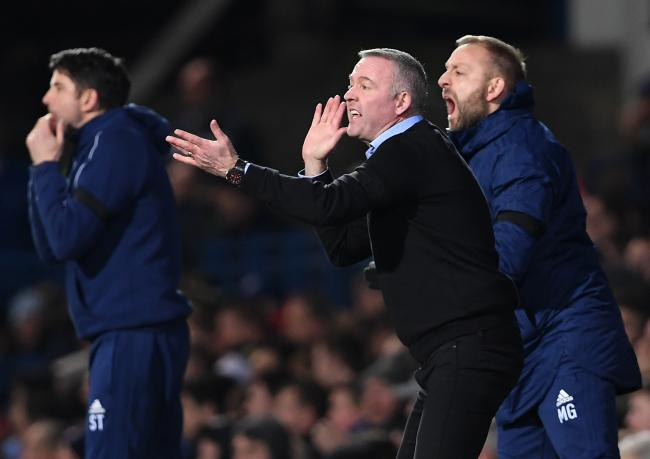 Ipswich Town manager Paul Lambert, whose side suffered relegation into League One on Saturday