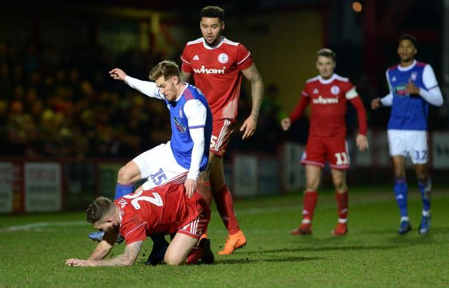 Ipswich should build their side around talented young players like Teddy Bishop, pictured here in action at Accrington Stanley Picture: Pagepix