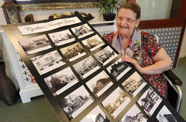 Social - Cynthia Grimwood at Stanway Green Lodge set up a Facebook page with old photos of Colchester