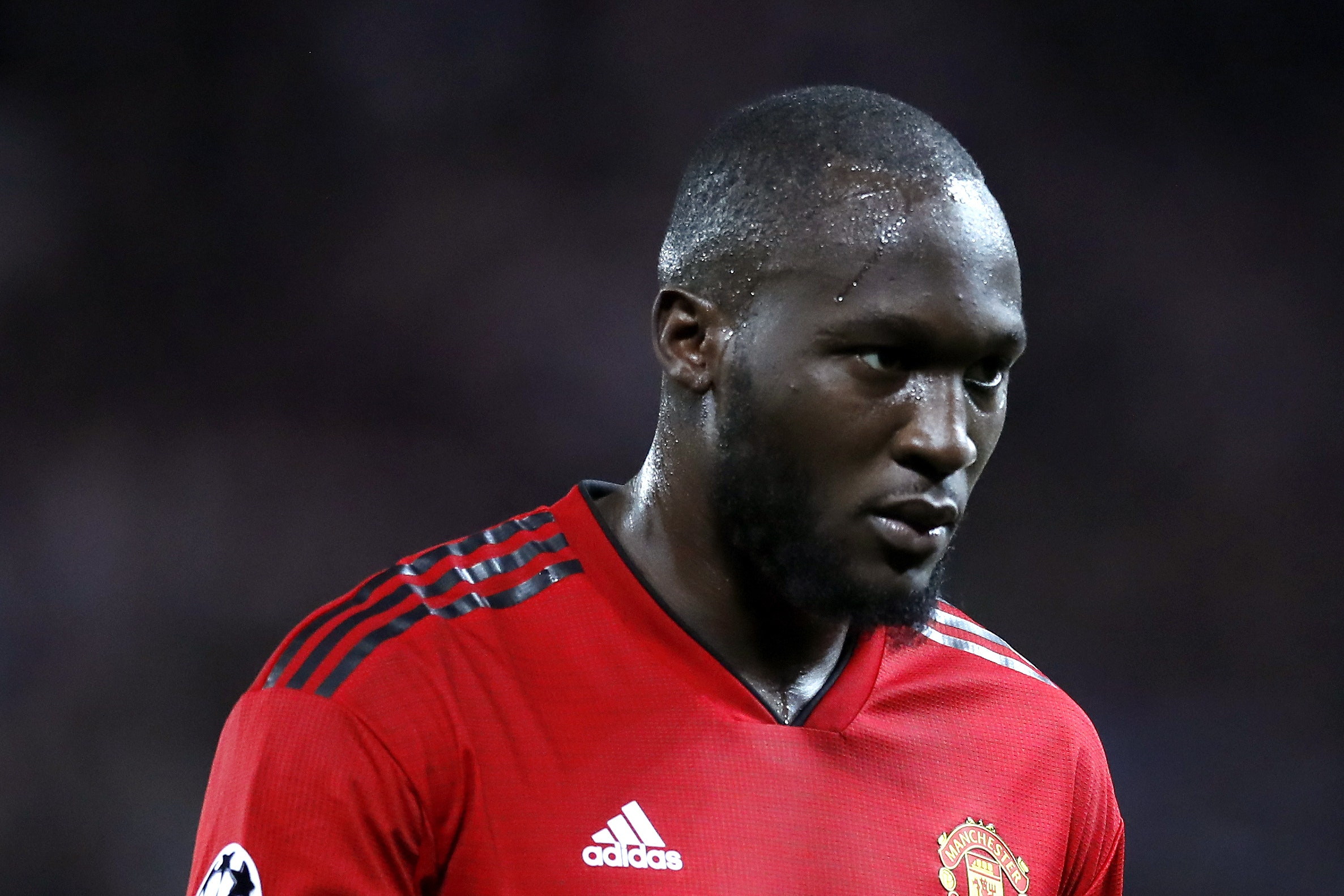 Manchester United striker Romelu Lukaku is suffering from a foot injury