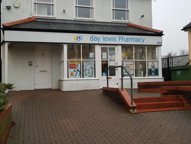 Targeted - Priory Pharmacy in East Hill, Colchester