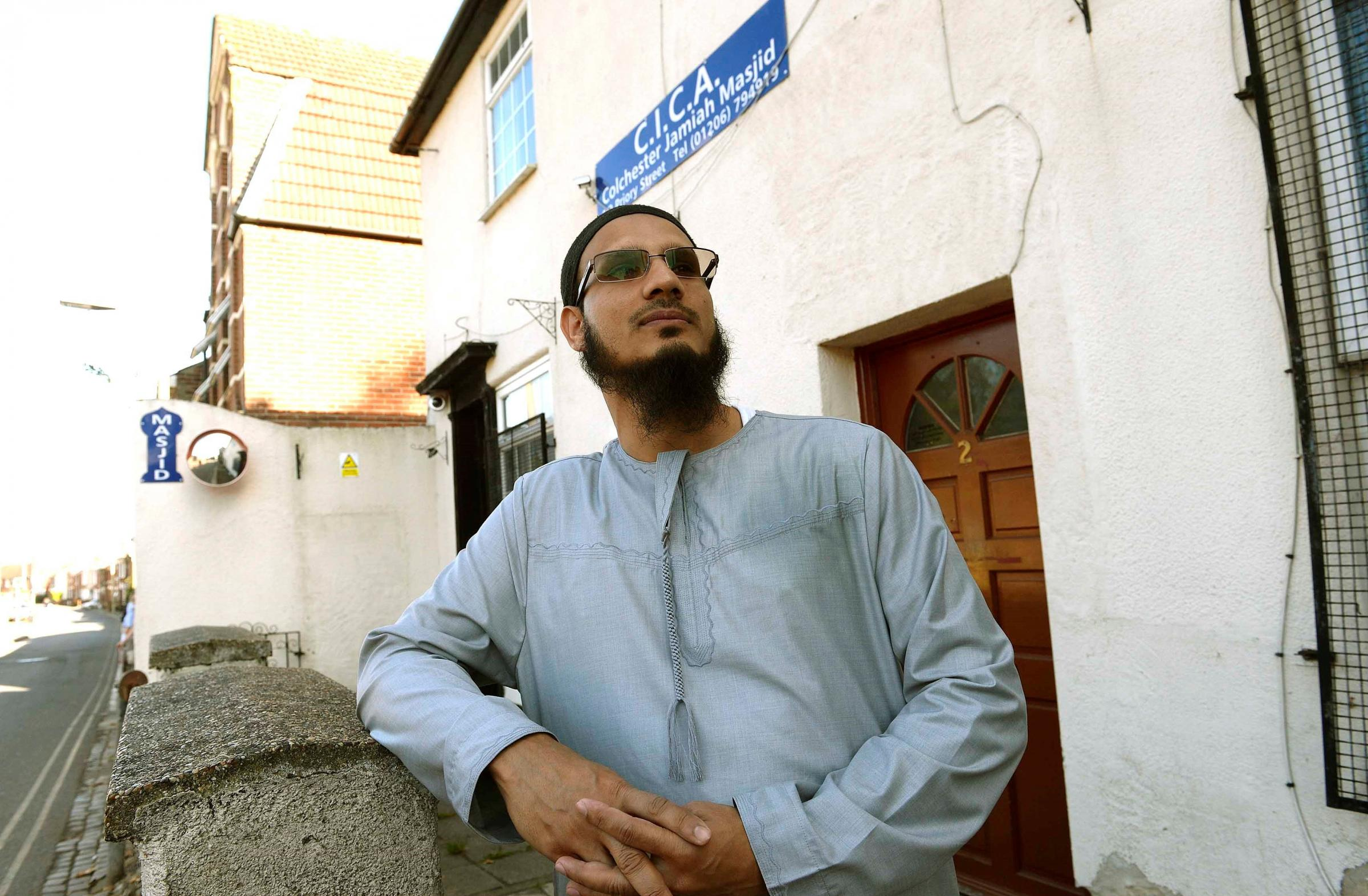 Saddened - chairman of Colchester Mosque Bashir Goni says Islamophobia has been allowed to develop
