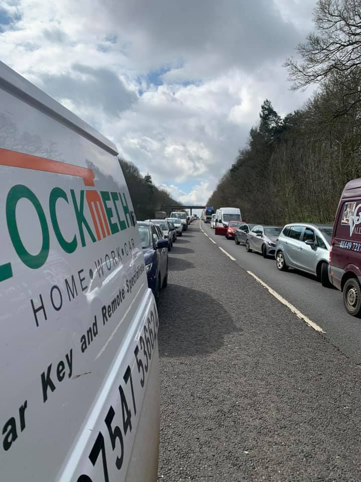 A12 partially blocked and traffic building after reports of crash near Dedham