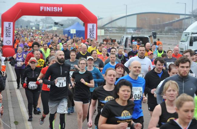 Popular - as many as 4,000 runners could take part