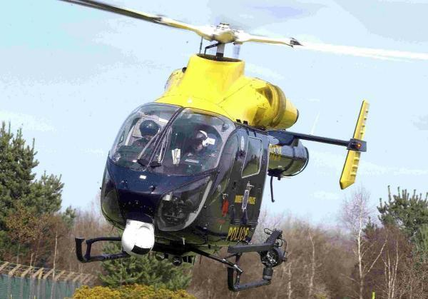 Police helicopter searched for man with 'firearms'