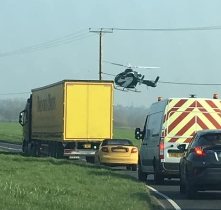 Crash - a motorcyclist has died following a crash in Langford. Picture: Julie Humphris