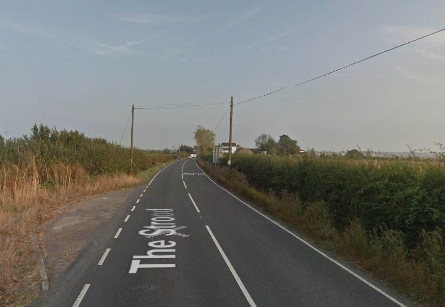 Road cleared after crash blocks route onto island