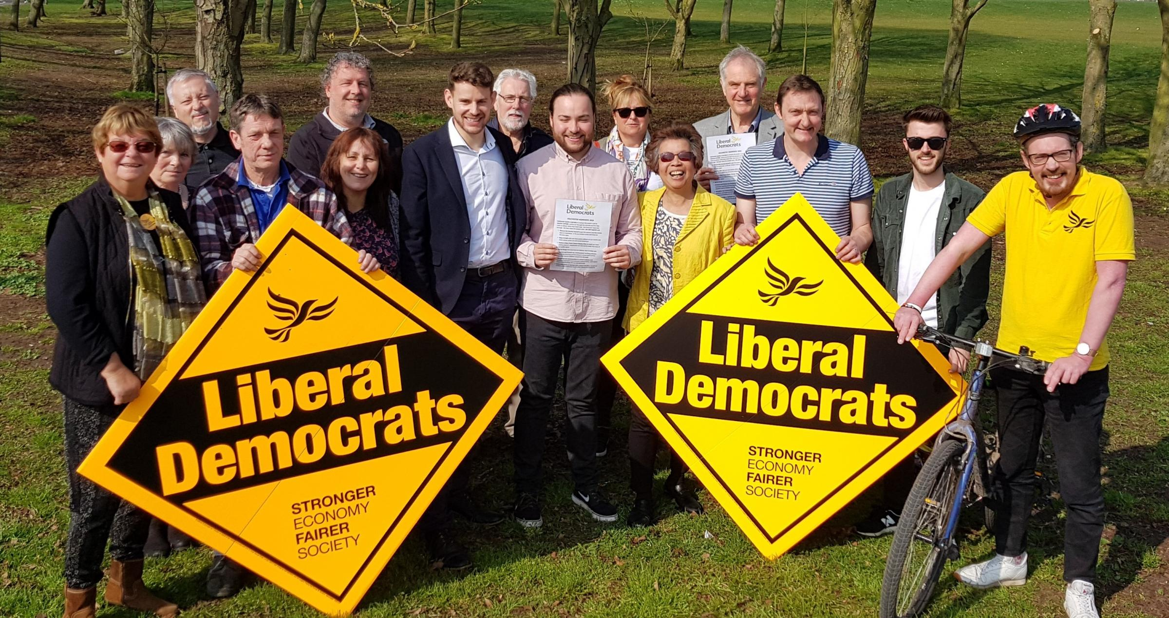 Plans - Colchester's Liberal Democrats launch their manifesto