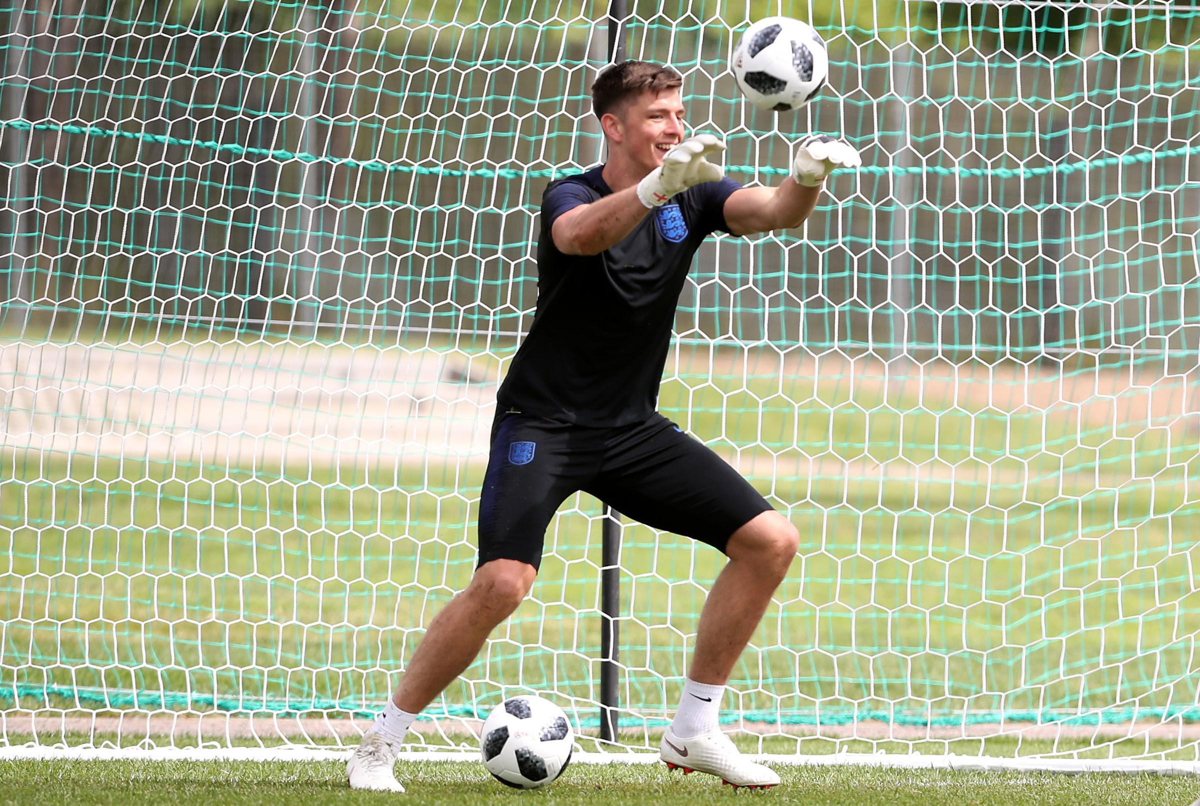 Safe hands - Colchester United under-23s came up against England international keeper Nick Pope Picture: Owen Humphreys/PA