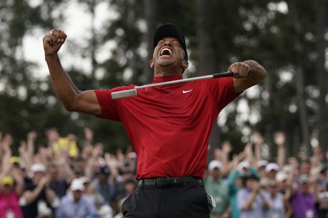 Tiger Woods is the Masters champion again