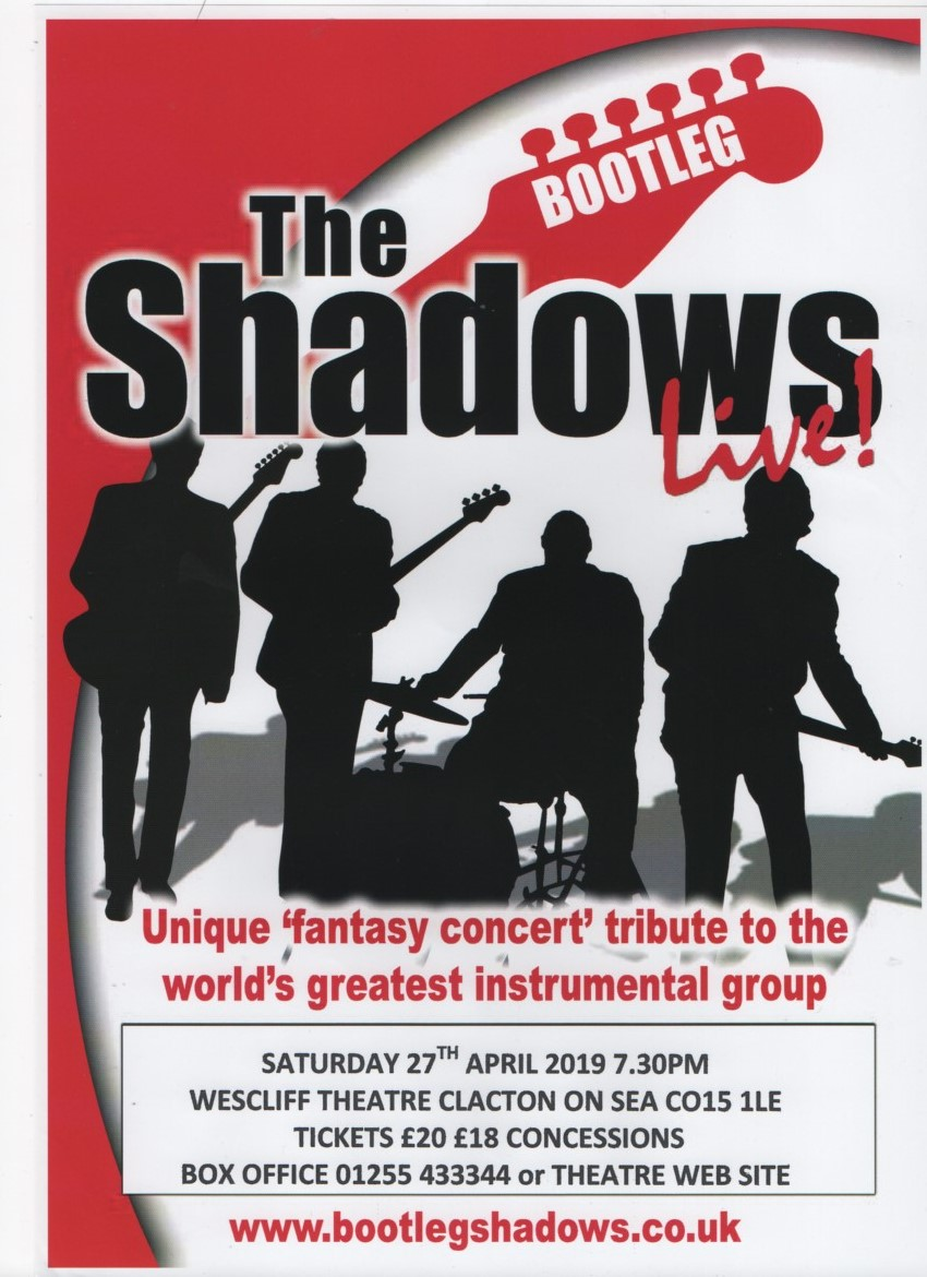 Charity concert with a tribute to 'The Shadows'.