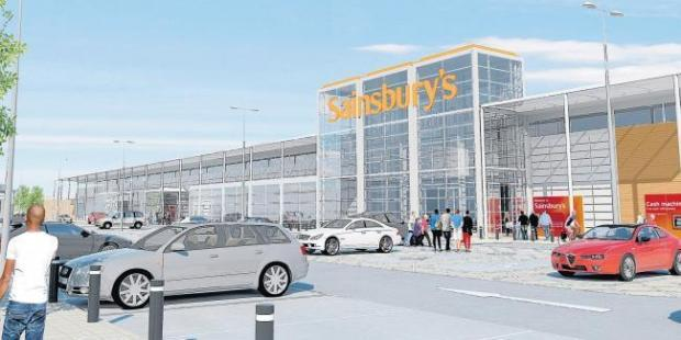 Gazette: How the new Sainsbury's in Hythe could look once eventually open