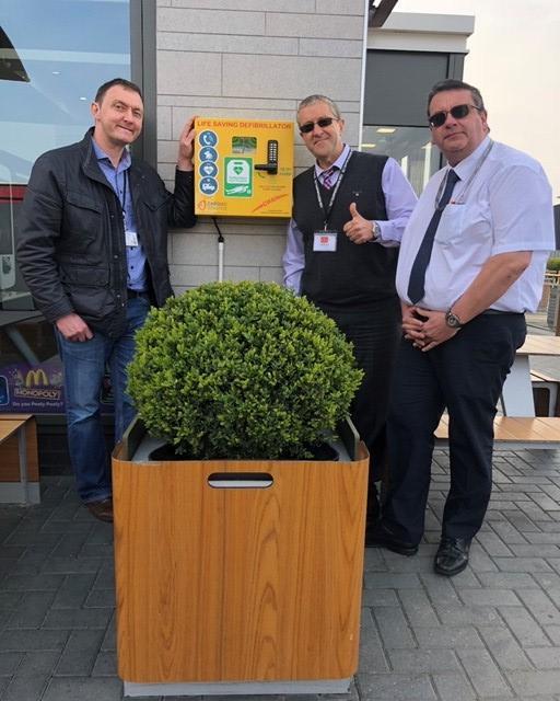 CHAIN raises £11k to fund seven defibrillators in Colchester | Gazette