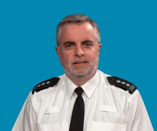 New role - Colchester's district commander Chief Insp Rob Huddleston